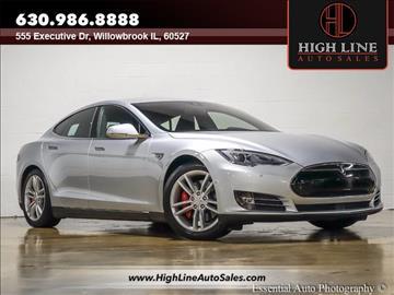 2015 Tesla Model S for sale in Burr Ridge, IL