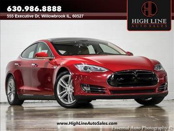 2013 Tesla Model S for sale in Burr Ridge, IL