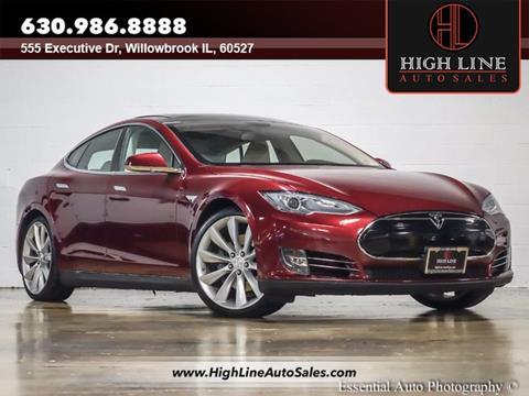 2012 Tesla Model S for sale in Burr Ridge, IL