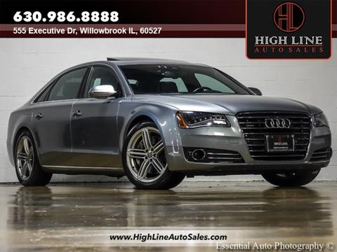 2013 Audi A8 L for sale in Burr Ridge, IL