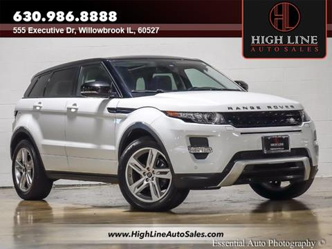 2013 Land Rover Range Rover Evoque for sale in Burr Ridge, IL