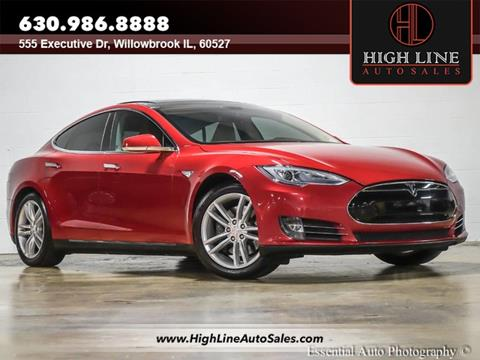 Gray Tesla Model S PD For Sale Carsforsalecom - 2014 tesla