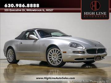 2002 Maserati Spyder for sale in Burr Ridge, IL