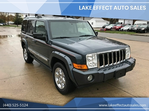 2008 Jeep Commander for sale in Eastlake, OH