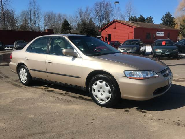 Nice 2000 Honda Accord For Sale At Burns Auto Sales LLC In Anoka MN