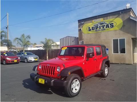 2015 Jeep Wrangler Unlimited for sale in Turlock, CA
