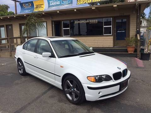 2002 BMW 3 Series for sale at European Rides Auto Sales in Oceanside CA
