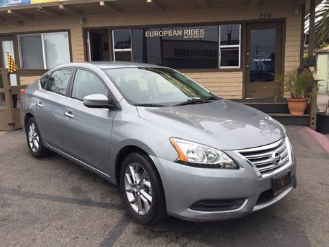 2014 Nissan Sentra for sale at European Rides Auto Sales in Oceanside CA