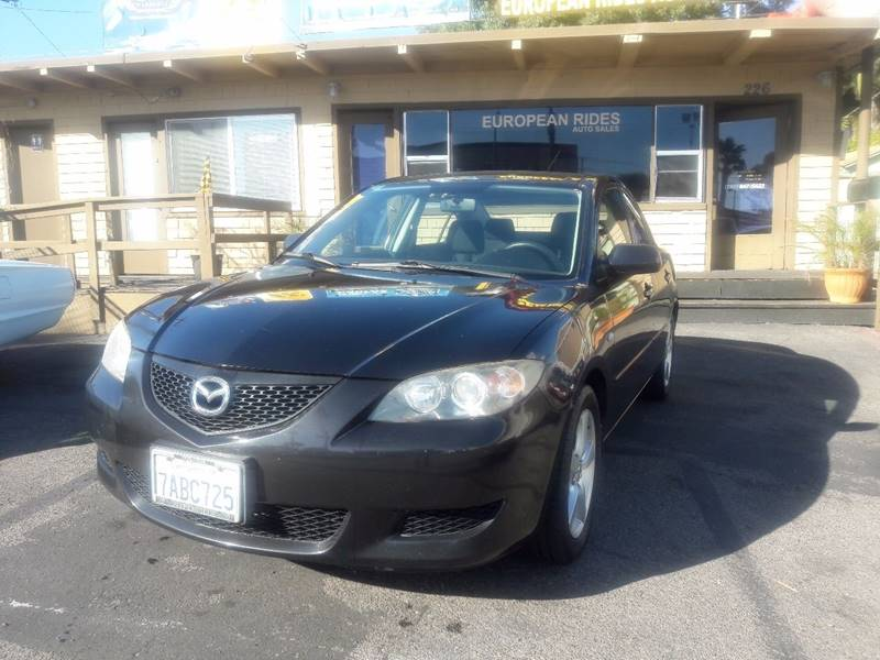 2006 Mazda MAZDA3 for sale at European Rides Auto Sales in Oceanside CA