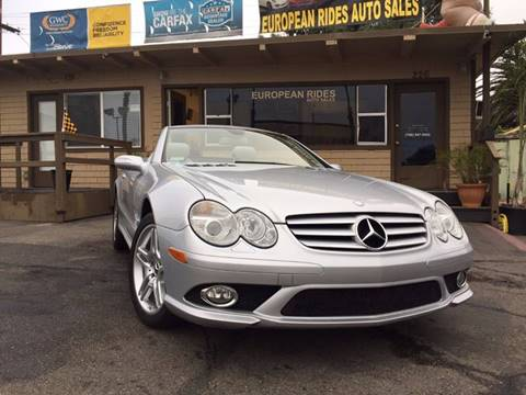 2007 Mercedes-Benz SL-Class for sale at European Rides Auto Sales in Oceanside CA