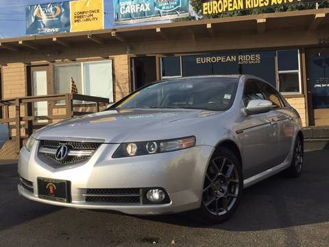 2007 Acura TL for sale at European Rides Auto Sales in Oceanside CA