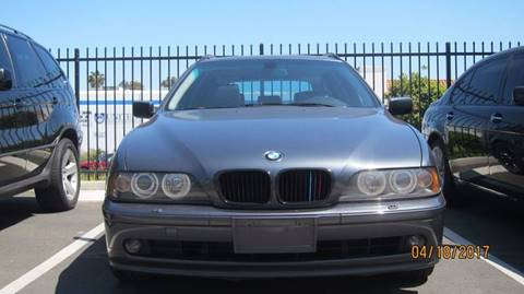 2001 BMW 5 Series for sale at European Rides Auto Sales in Oceanside CA
