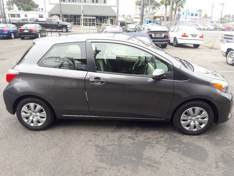 2013 Toyota Yaris for sale at European Rides Auto Sales in Oceanside CA