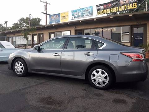 2014 Nissan Altima for sale at European Rides Auto Sales in Oceanside CA