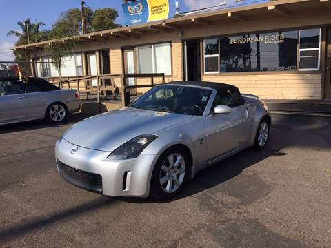 2006 Nissan 350Z for sale at European Rides Auto Sales in Oceanside CA