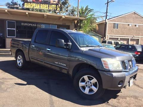 2006 Nissan Titan for sale at European Rides Auto Sales in Oceanside CA