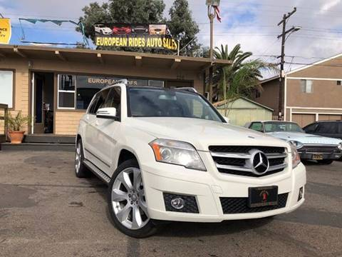2010 Mercedes-Benz GLK for sale at European Rides Auto Sales in Oceanside CA