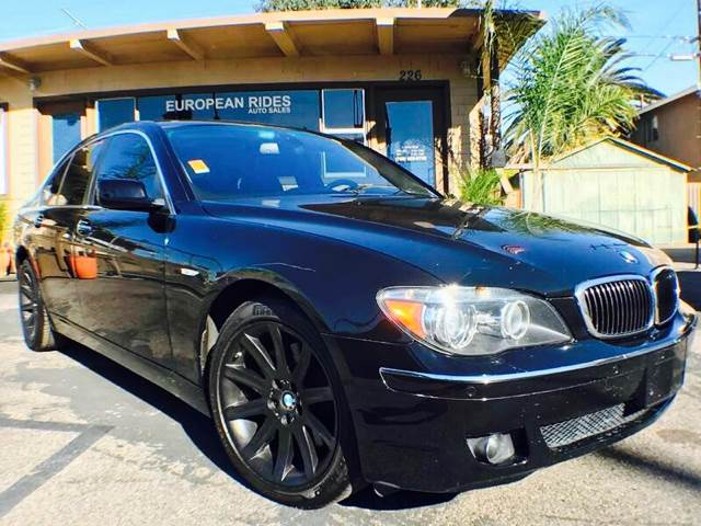 2006 BMW 7 Series for sale at European Rides Auto Sales in Oceanside CA