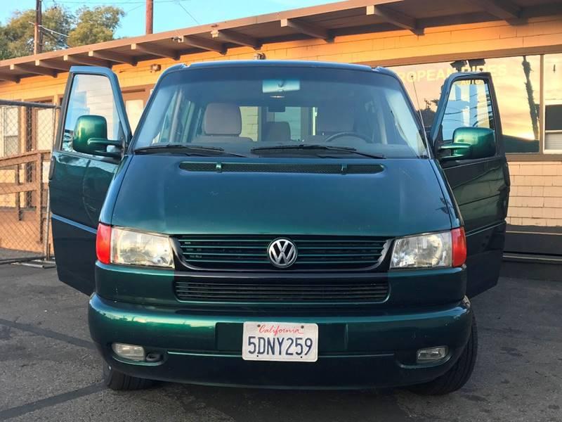 2003 Volkswagen EuroVan for sale at European Rides Auto Sales in Oceanside CA