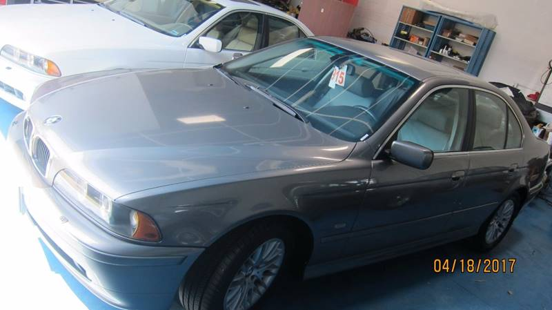 2003 BMW 5 Series for sale at European Rides Auto Sales in Oceanside CA