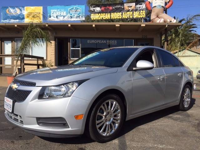2012 Chevrolet Cruze for sale at European Rides Auto Sales in Oceanside CA