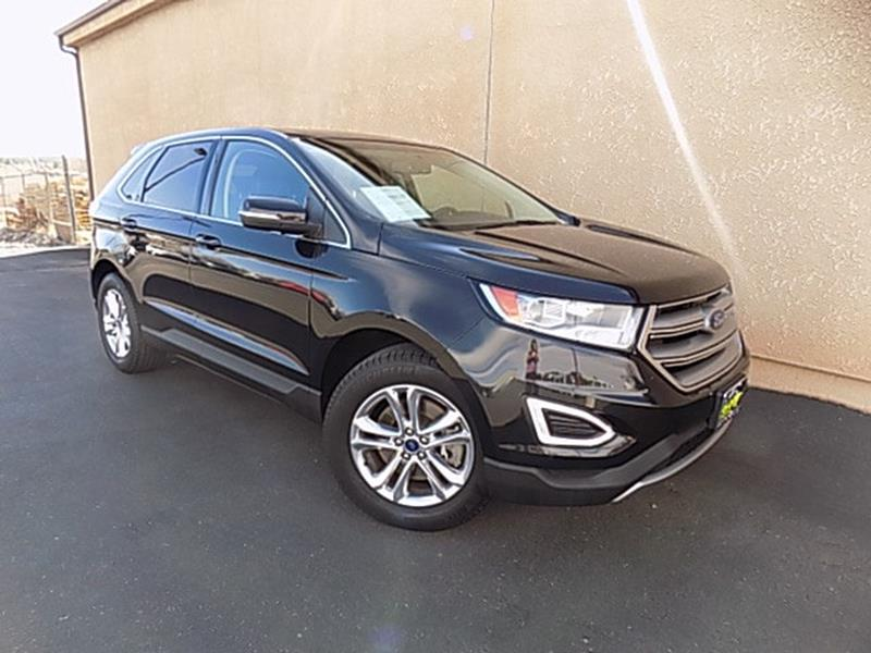 2015 ford edge awd sel 4dr crossover in show low az show. Black Bedroom Furniture Sets. Home Design Ideas
