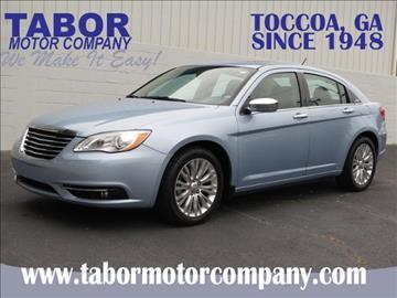 2013 Chrysler 200 for sale in Toccoa, GA