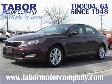 2013 Kia Optima for sale in Toccoa, GA