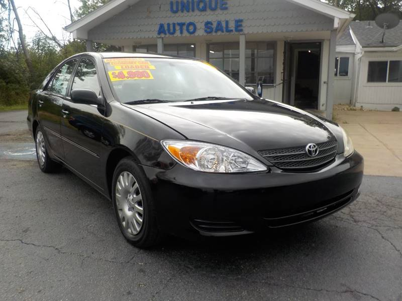 2003 Toyota Camry For Sale At Unique Auto Sales In Frankfort IL
