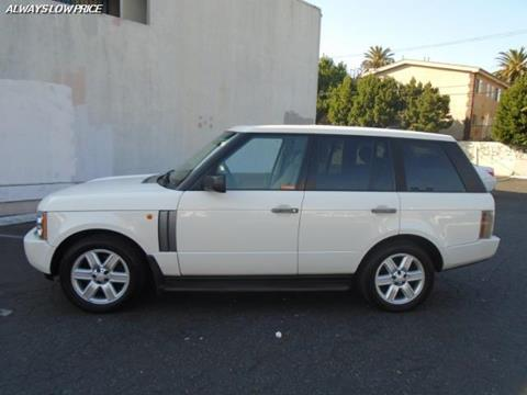 2005 Land Rover Range Rover for sale in Van Nuys, CA