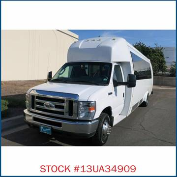 2013 Ford Ameritrans E-450 Passenger Bus for sale in Carson, CA