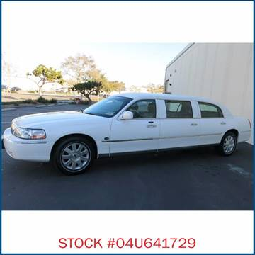 2004 Lincoln Town Car for sale in Carson, CA