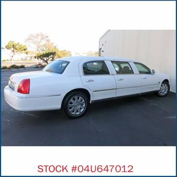 2000 Lincoln Town Car for sale in Carson, CA