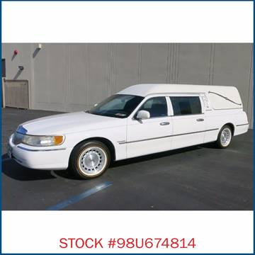 1998 Lincoln Federal Coach  Hearse for sale in Carson, CA