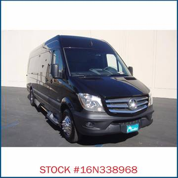 2016 Mercedes-Benz Sprinter for sale in Carson, CA