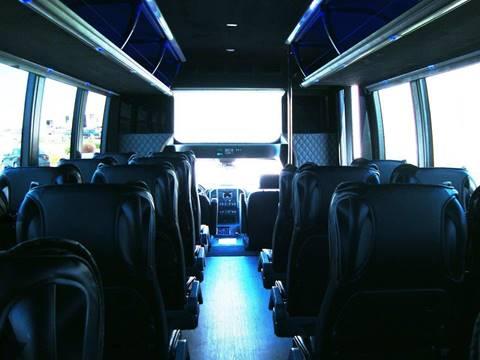 2017 Ford Executive Coach F-550 Passenger Bus