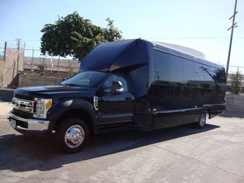 2017 Ford Executive Coach F-550 Passenger Bus for sale in Carson, CA