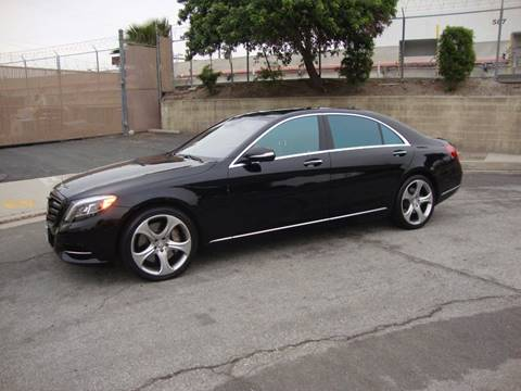2014 Mercedes-Benz S-Class S 550 for sale at COACHWEST LUXURY & PROFESSIONAL MOTORCARS INC. in Carson CA