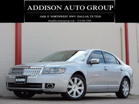 2009 Lincoln MKZ for sale in Dallas, TX