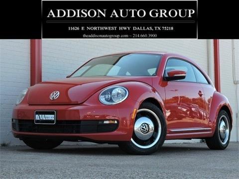 2012 Volkswagen Beetle for sale in Dallas, TX