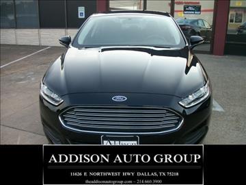 2016 Ford Fusion for sale in Dallas, TX