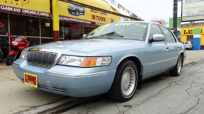 2002 Mercury Grand Marquis for sale at 6 STARS AUTO SALES INC in Chicago IL