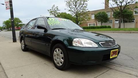 1999 Honda Civic for sale at 6 STARS AUTO SALES INC in Chicago IL