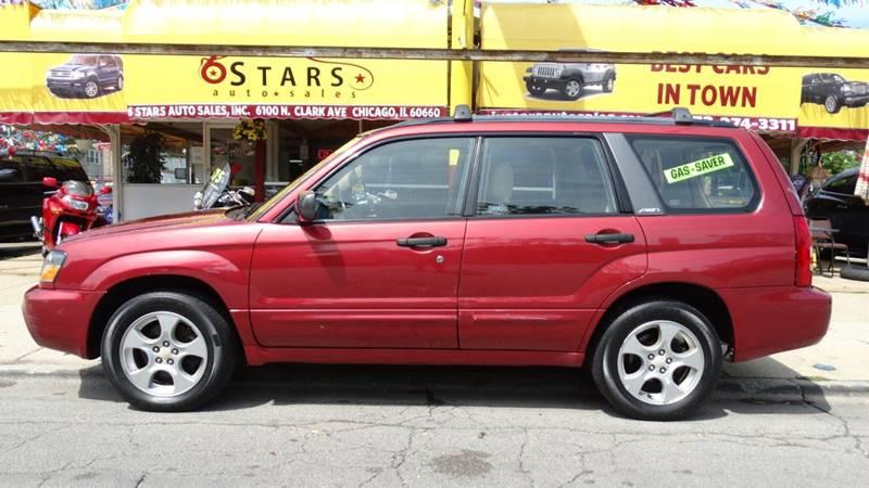 2003 Subaru Forester for sale at 6 STARS AUTO SALES INC in Chicago IL