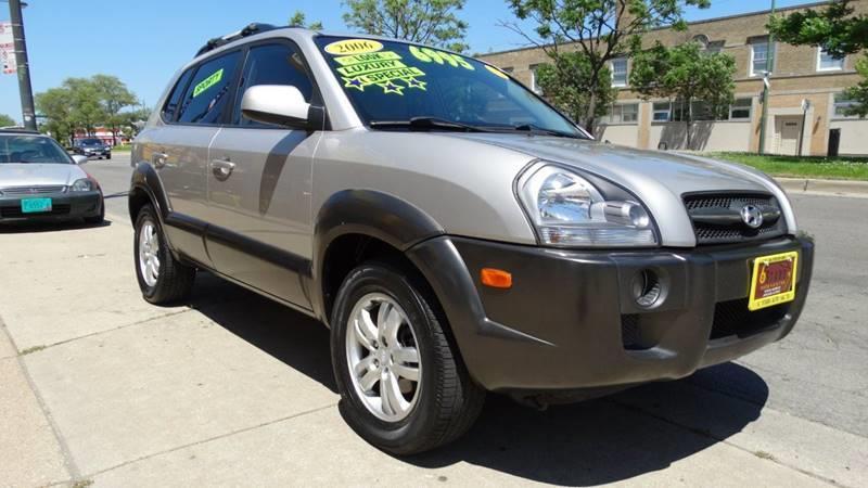 2006 Hyundai Tucson for sale at 6 STARS AUTO SALES INC in Chicago IL