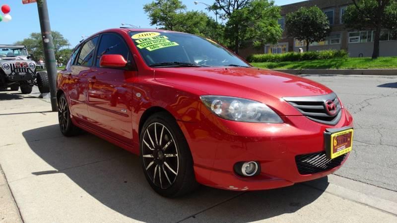 2005 Mazda MAZDA3 for sale at 6 STARS AUTO SALES INC in Chicago IL