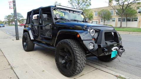 2007 Jeep Wrangler Unlimited for sale in Chicago, IL