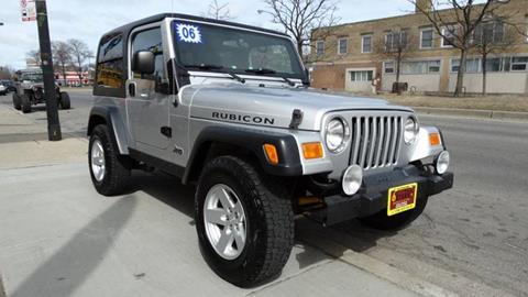 2006 Jeep Wrangler for sale at 6 STARS AUTO SALES INC in Chicago IL