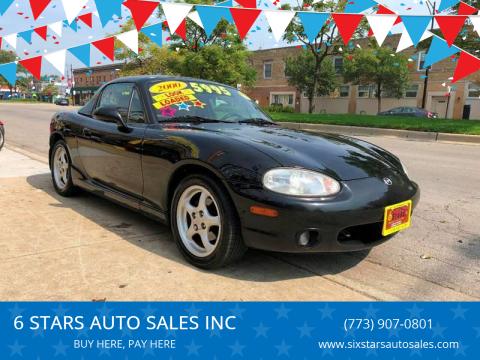 2000 Mazda MX-5 Miata for sale at 6 STARS AUTO SALES INC in Chicago IL