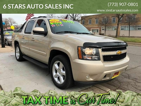 2007 Chevrolet Avalanche for sale at 6 STARS AUTO SALES INC in Chicago IL